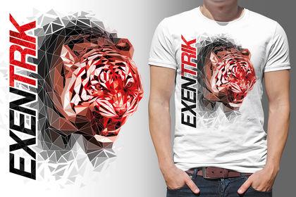 Visuel pour tee-shirt marque Excentrik