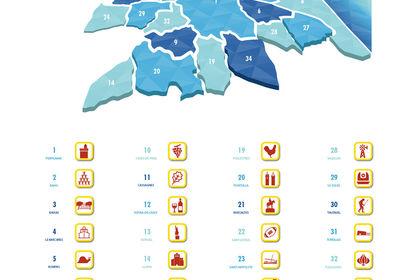 Carte de Perpignan Métropole Méditerranée