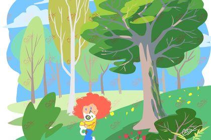 Promenade dans la campagne