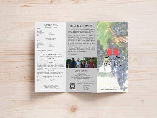 Flyer - viticulteur