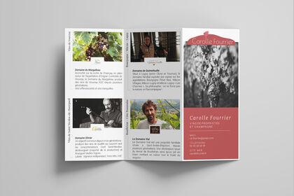 Flyer Carolle Fourrier