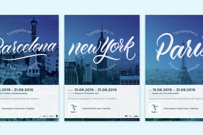 Affiches Typetrip