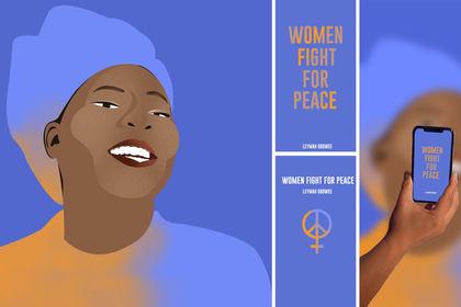 Illustration Leymah Gbowee
