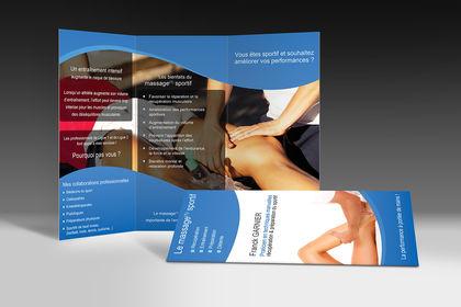 Réalisation d'un triptyque massage