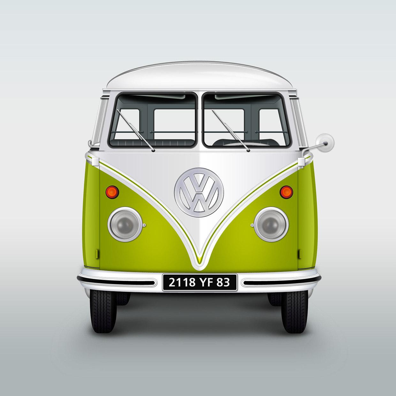Réalisation d'un Combi Volkswagen