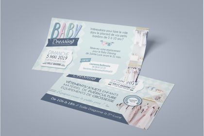 Flyer Baby Dressing