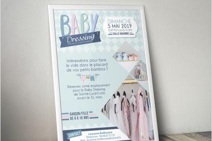 Afiche Baby Dressing