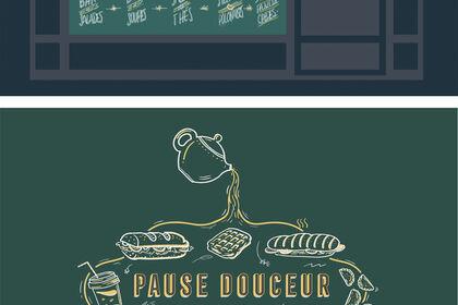 PAUSE DOUCEUR - Vitrine