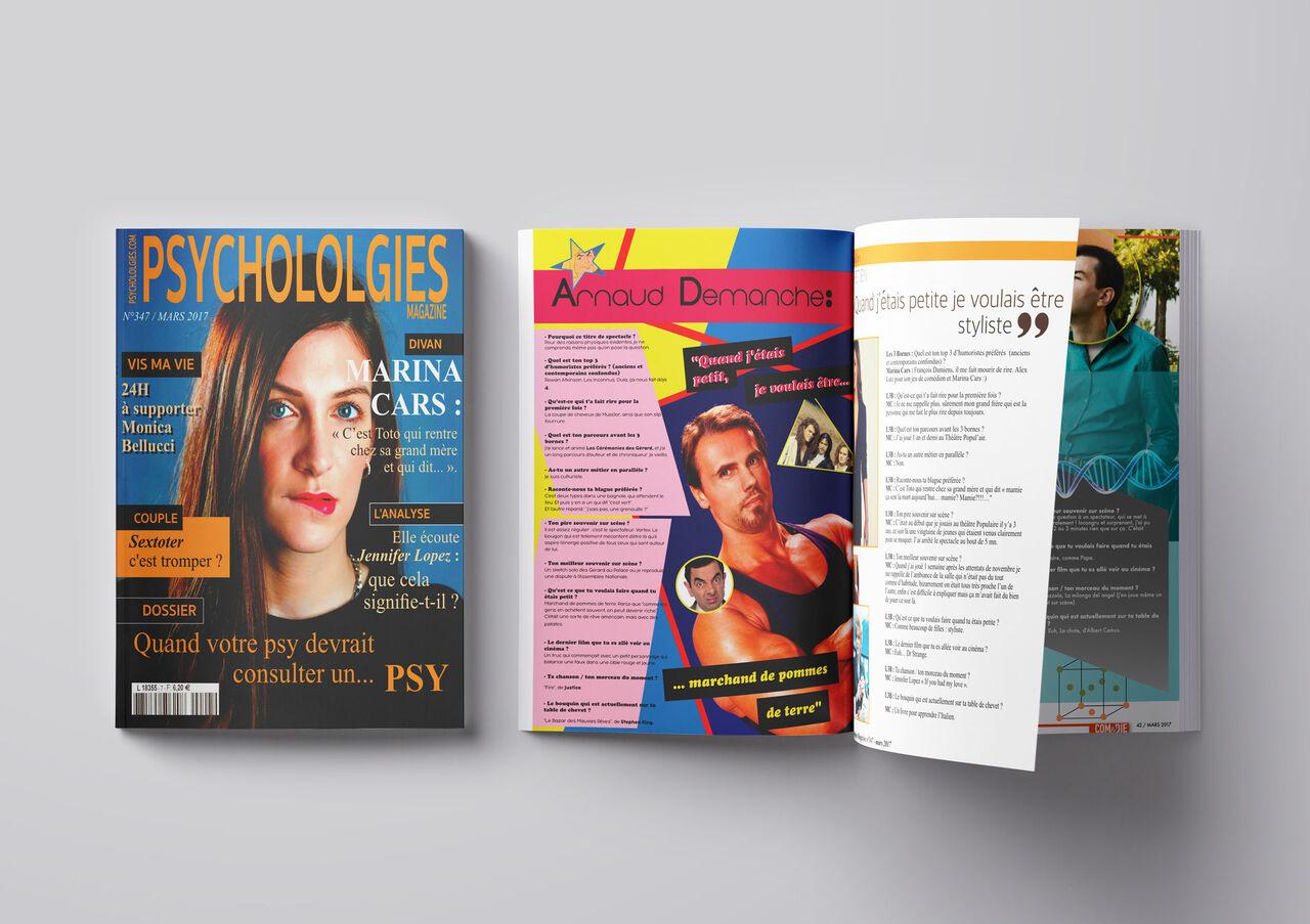 Magazine : Arnaud Demanche (Comédie des 3 Bornes)