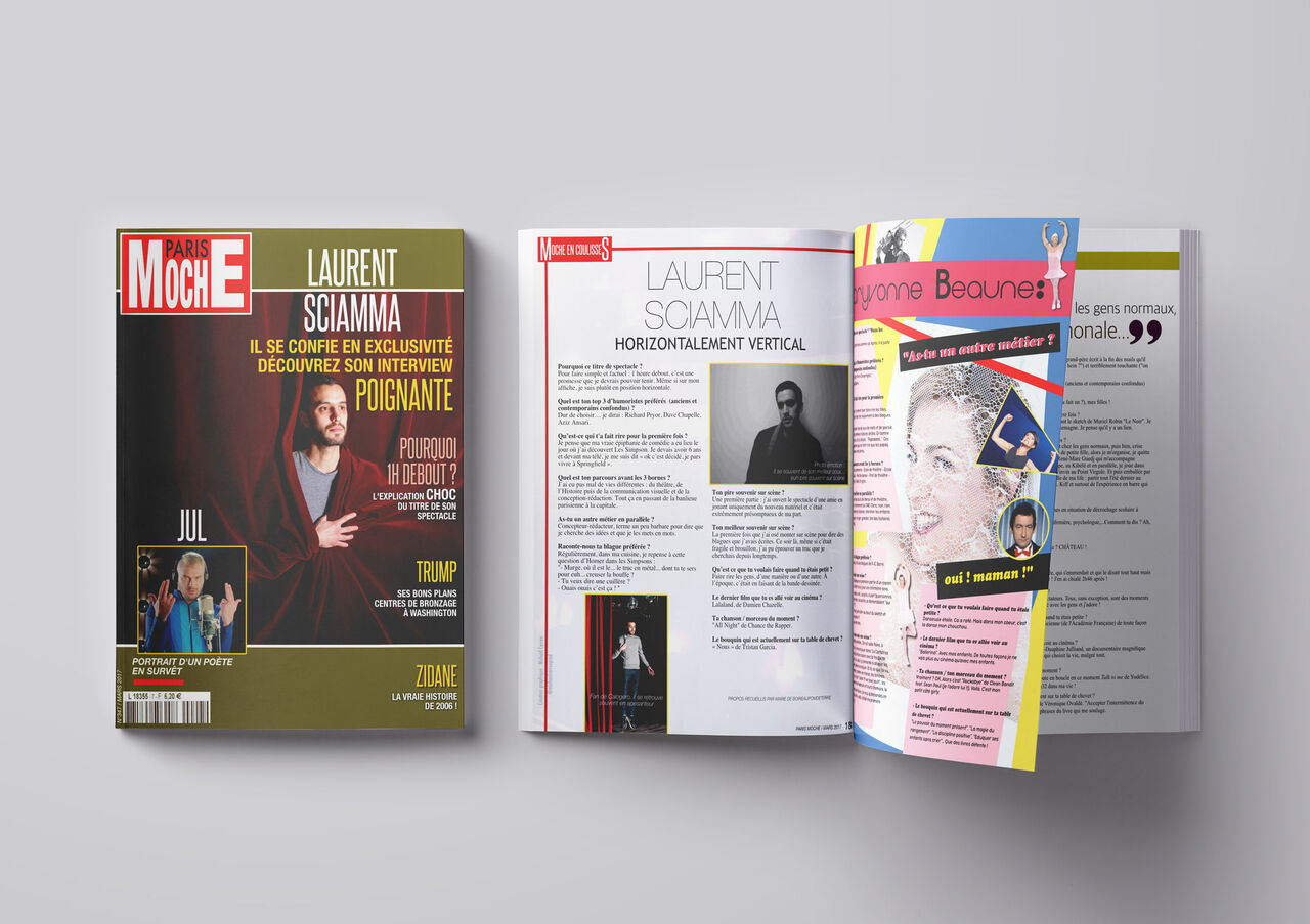 Magazine : Laurent Sciamma (Comédie des 3 Bornes)