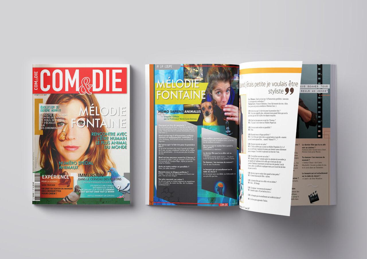 Magazine : Mélodie Fontaine (Comédie des 3 Bornes)