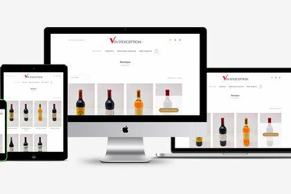 Web : Vin d'exception