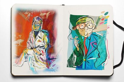 Portraits : Francis & David