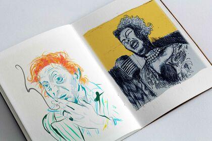 Portraits : Serge & chanteuse soul
