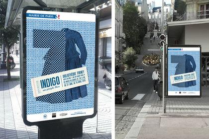 Affiche exposition Indigo