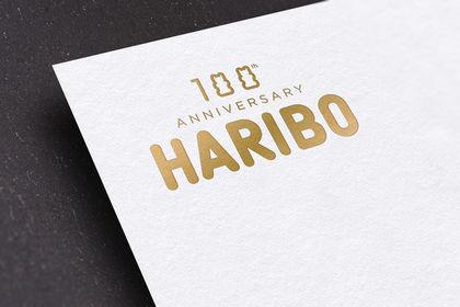Logo - Haribo 100 ans