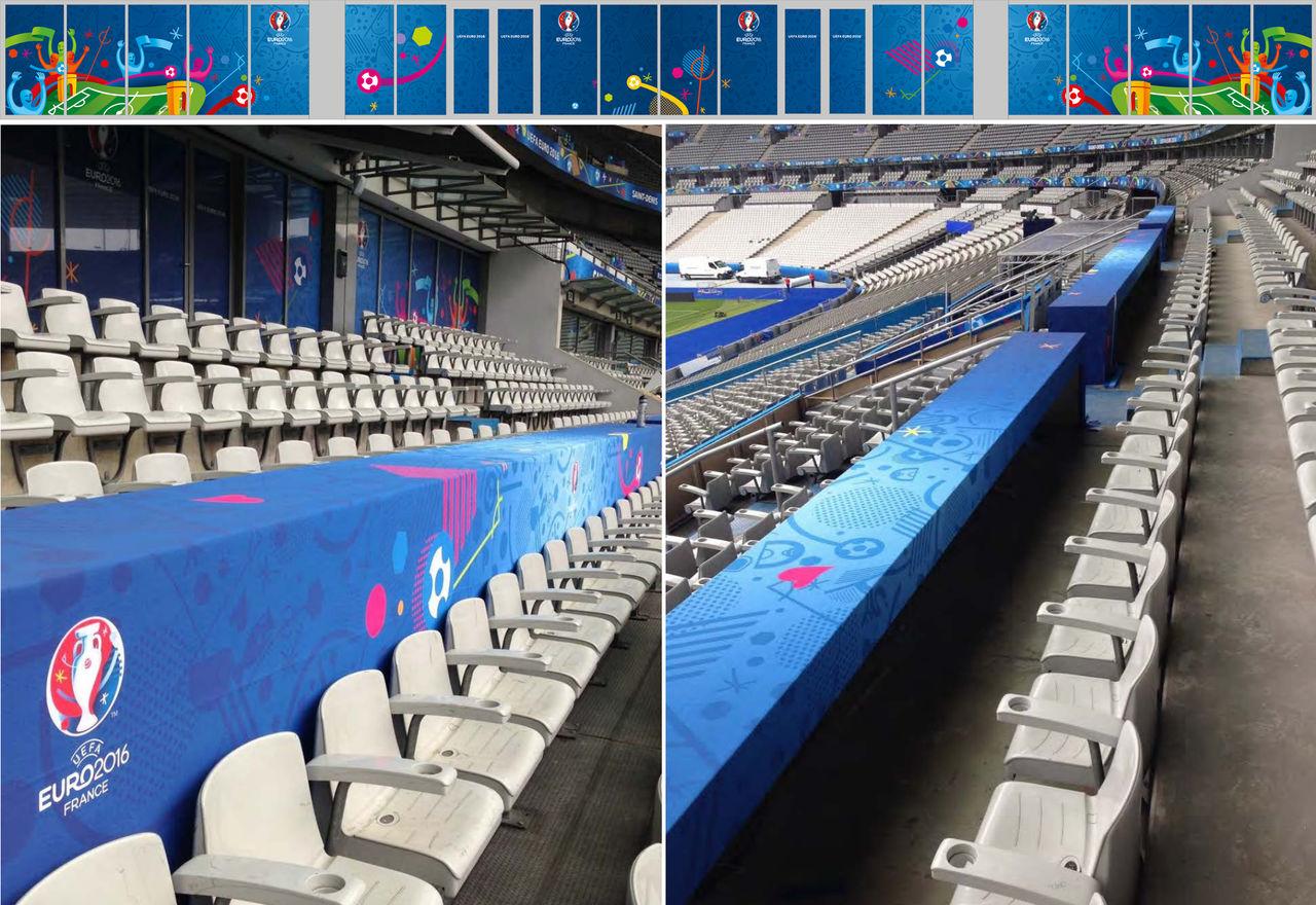 Signalétique UEFA Euro 2016