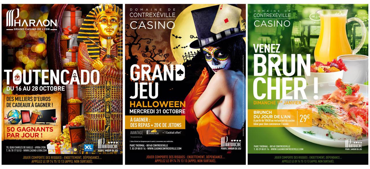 Affiches Casinos Partouche