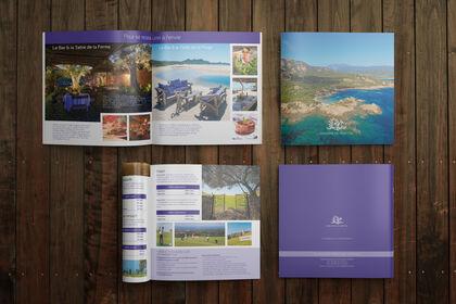 Brochure pour le Domaine de Murtoli