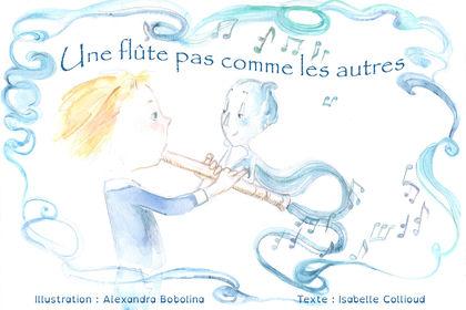 """""""Une flute pas comme les autres"""" couverture"""
