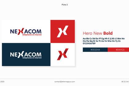 Planche refonte Logo Nexacom