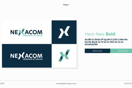 Planche logo refonte Nexacom