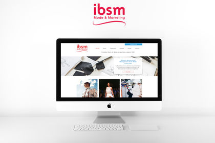 Site Web IBSM Mode & Marketing