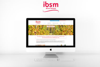 Site Web IBSM Wine School