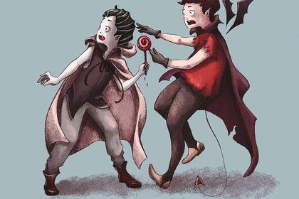 Illustration jeunesse halloween