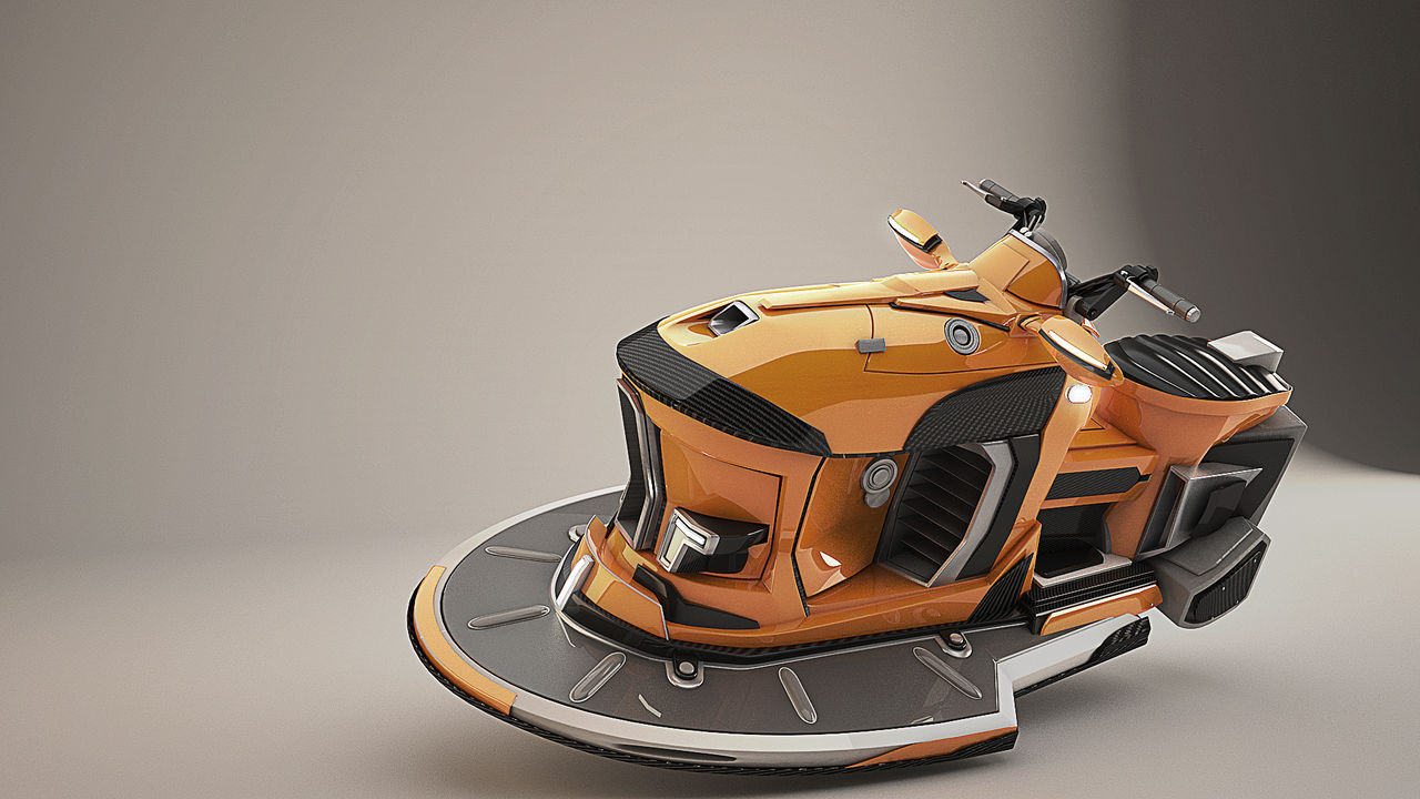 Hoverscooter