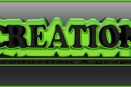 Logo avec effets 3D