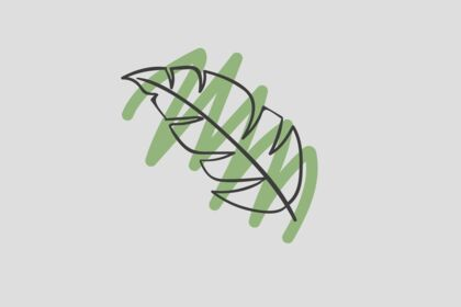 """Logo """"the leaf"""""""