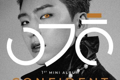 Devant album Yoo Kihyun - Confident