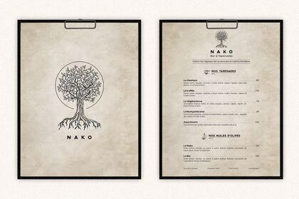 Carte restaurant