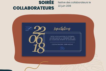 Invitation Stoelzle Masnières Parfume