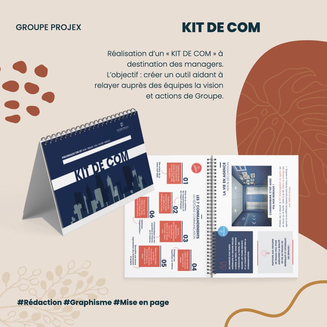 Kit de Com Groupe Projex