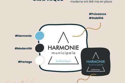 Logo et charte graphique Harmonie de Solesmes