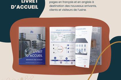 Livret d'accueil Stoelzle Masnières Parfumerie