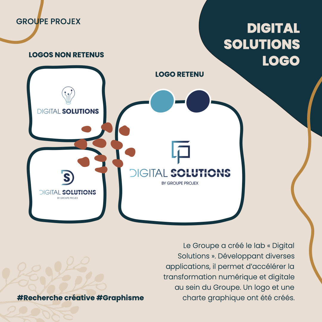 Logo digital solutions Groupe Projex