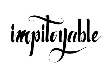 Impityable - affiche