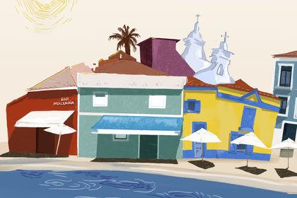 Illustration ville Aveiro