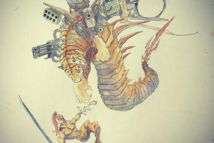 Tigre et le spartiate