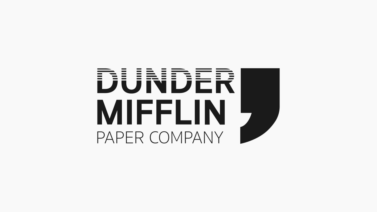Dunder Mifflin paper compagny
