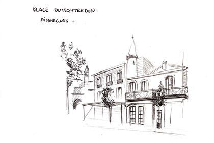Croquis Aimargues