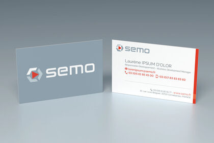 Carte de visite, Semo