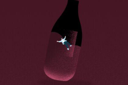 L'homme dans la bouteille