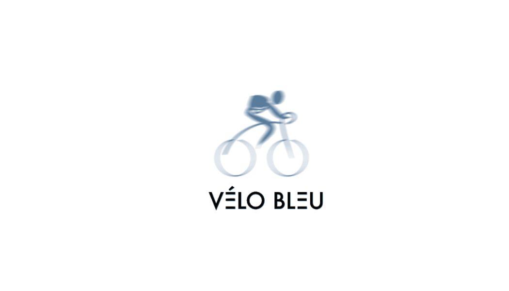 Logo - Le Vélo bleu