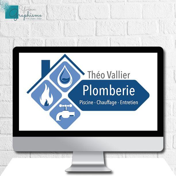 Logo Théo Vallier Plomberie