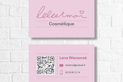Cartes de visite Lélé et Moi