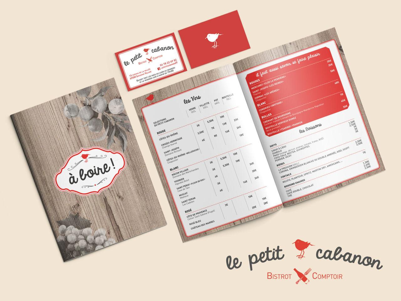 Charte Graphique Le Petit Cabanon
